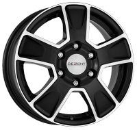 DEZENT Van dark black/polished